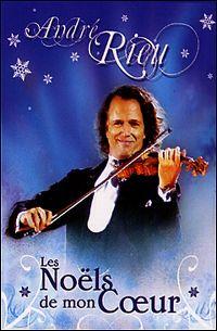 Cover André Rieu - Les Noëls de mon cœur [DVD]